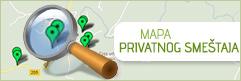 Mapa privatnog smestaja